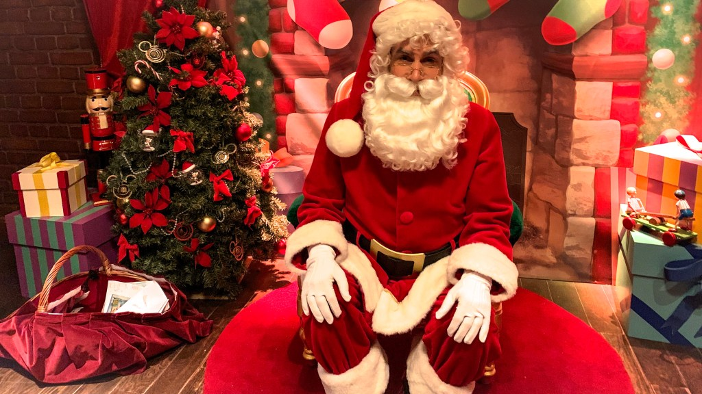 Disneyland Paris Christmas 2019 Santa
