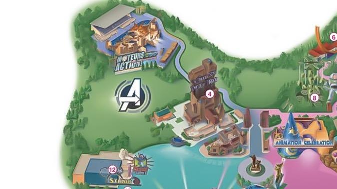 Walt Disney Studios Park 2020 Backlot