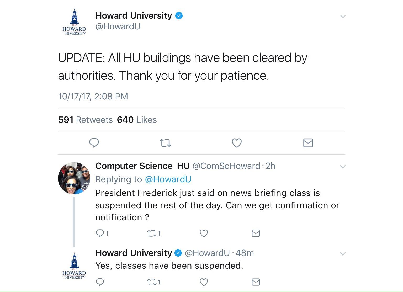 Gunman On Howard University Campus The Dmv Daily