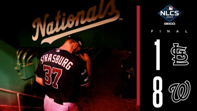 Washington Nationals win Game 3 of NLCS