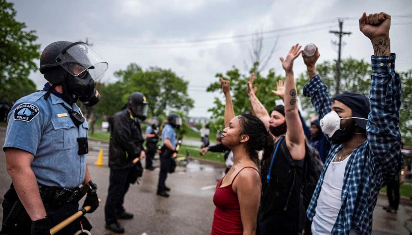 National Policy in times of Protest #GeorgeFloyd