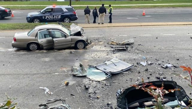 Child killed and 3 people seriously injured in Fairfax County crash