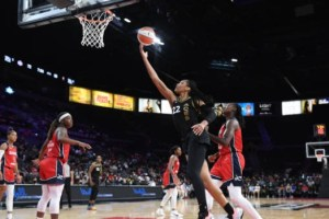 Washington Mystics Blow Huge Lead in Second Half; Lose to Las Vegas Aces By One Point