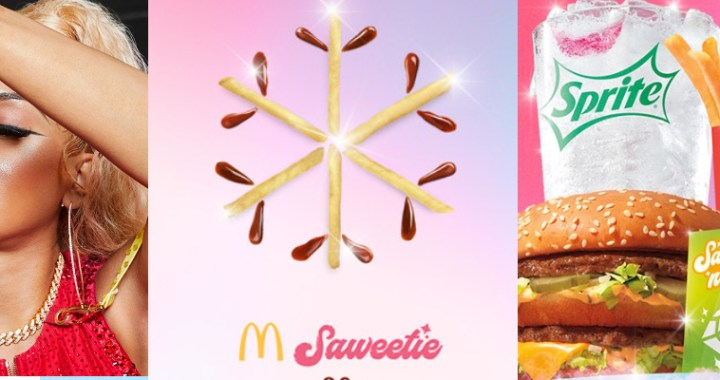 I know that's right! Content Queen Saweetie's new collaboration meal with McDonald's