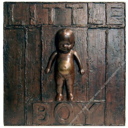 LITTLE BOY. 60 x 60 x 10 cm. 2020. 1/1