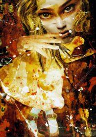 DANCE OF SEDUCTION. 42 x 29 cm [A3]. 2003. 1/1