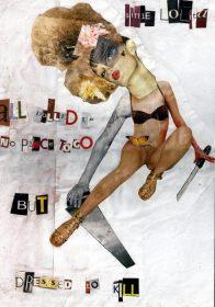 DRESSED TO KILL. 42 x 29 cm [A3]. 2004. 1/1