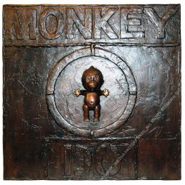 MONKEY DO. 60 x 60 x 9 cm. 2020. 1/1