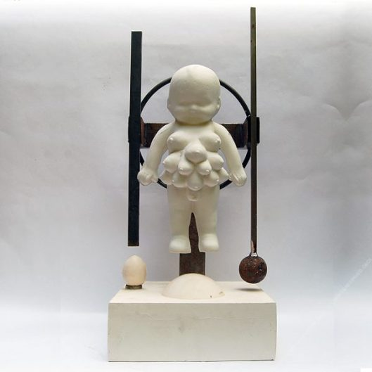 UNNATURAL BALANCE - 63 x 26 x 26 cm. 2020 1/1