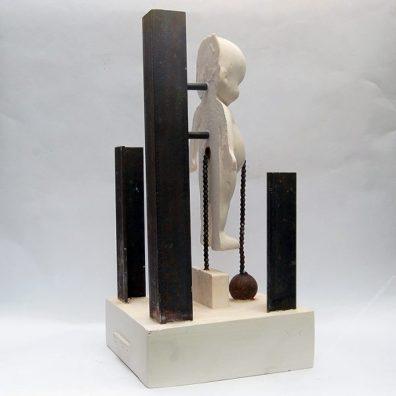 BELLYWEIGHT - 53 x 26 x 26 cm. 2020 1/1