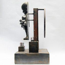 FEED THE MACHINE - 52 x 26 x 26 cm. 2020. 1/1