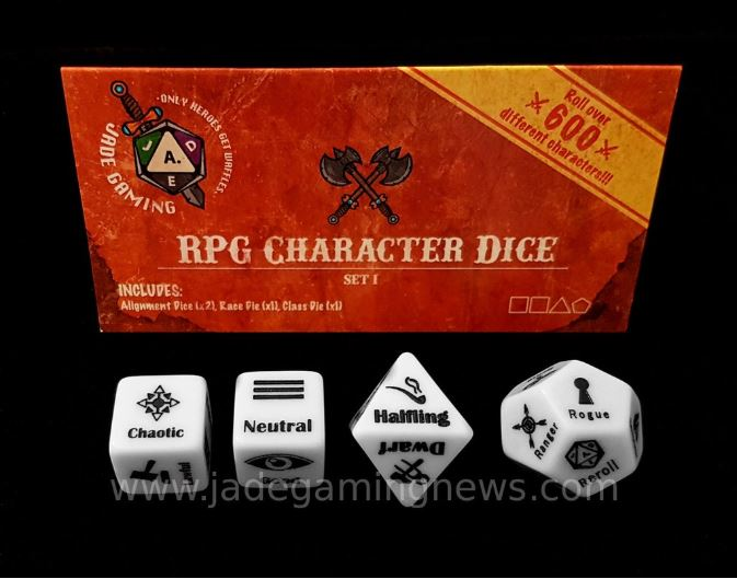 Character Dice set1