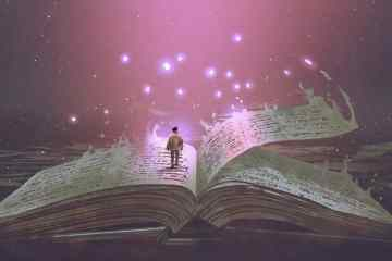 Walking through a magic book