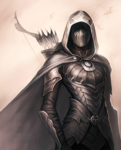 An assassin from Skyrim