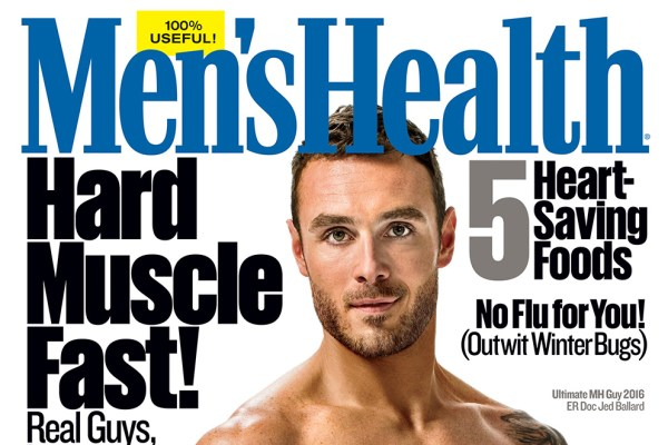 The new Ultimate Men's Health Guy is an osteopathic ER doc