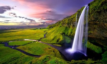 Seljalandsfoss in southern Iceland