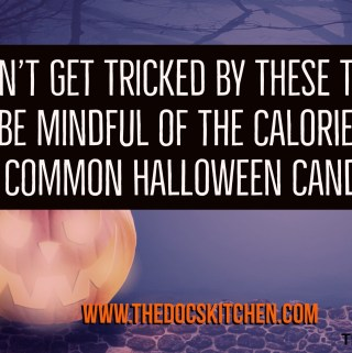 Be Mindful of Halloween candy calories