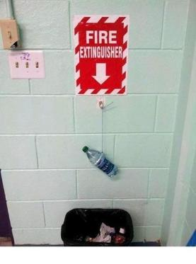 safe fire extinguisher