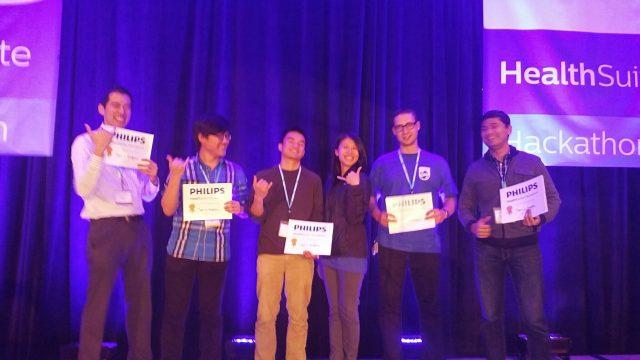 The winners Philips Hackathon