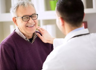 Doctor and smiling engaged patient 1500 x 1000