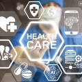 Surgeon with icons of healthcare 1500 x 1000