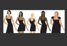 Women different sizes graphic charcoal background 1500 x 986