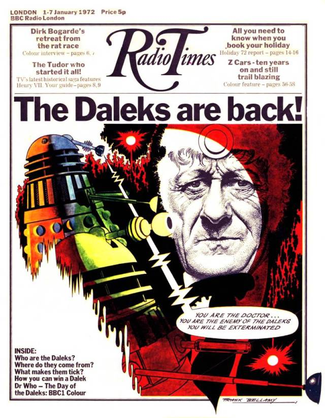 Day of the Daleks DVD 3rd Third Doctor Jon Pertwee Radio Times