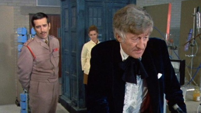 Spearhead from Space 3rd Third Doctor Brigadier