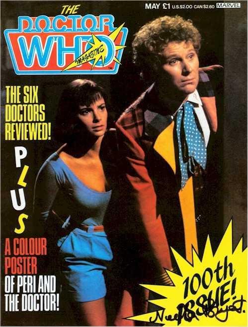 doctor who magazine 100