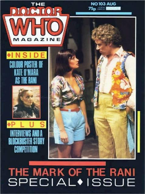 doctor who magazine 103