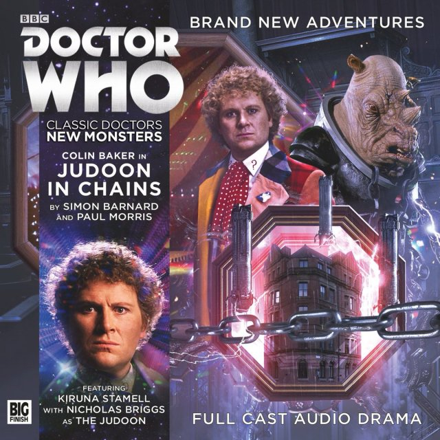 Judoon in Chains Classic Doctors, New Monsters