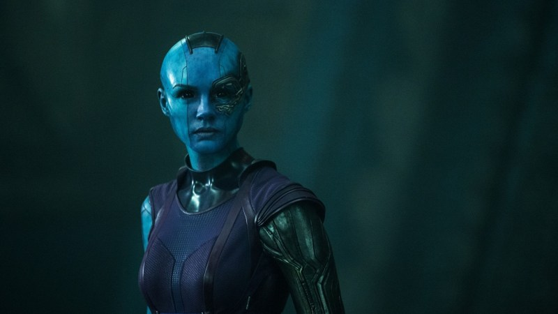 Karen Gillan Talks Turning Blue