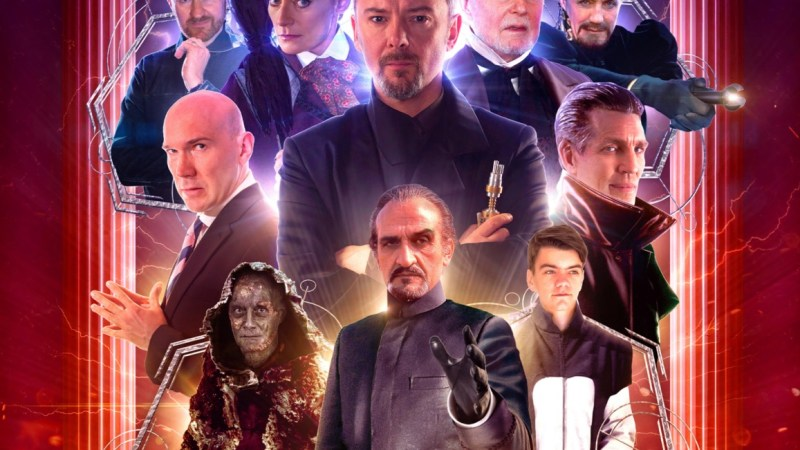 Big Finish Reveals Covers for Standard and Limited Edition Masterful Sets