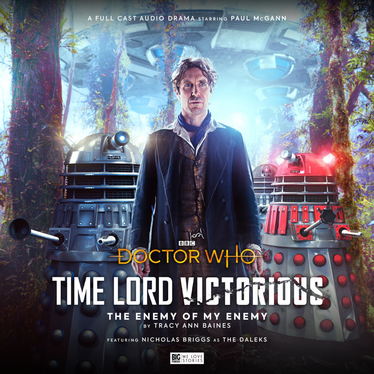 Paul McGann's Eighth Doctor to Lead Big Finish's Time Lord Victorious Trilogy