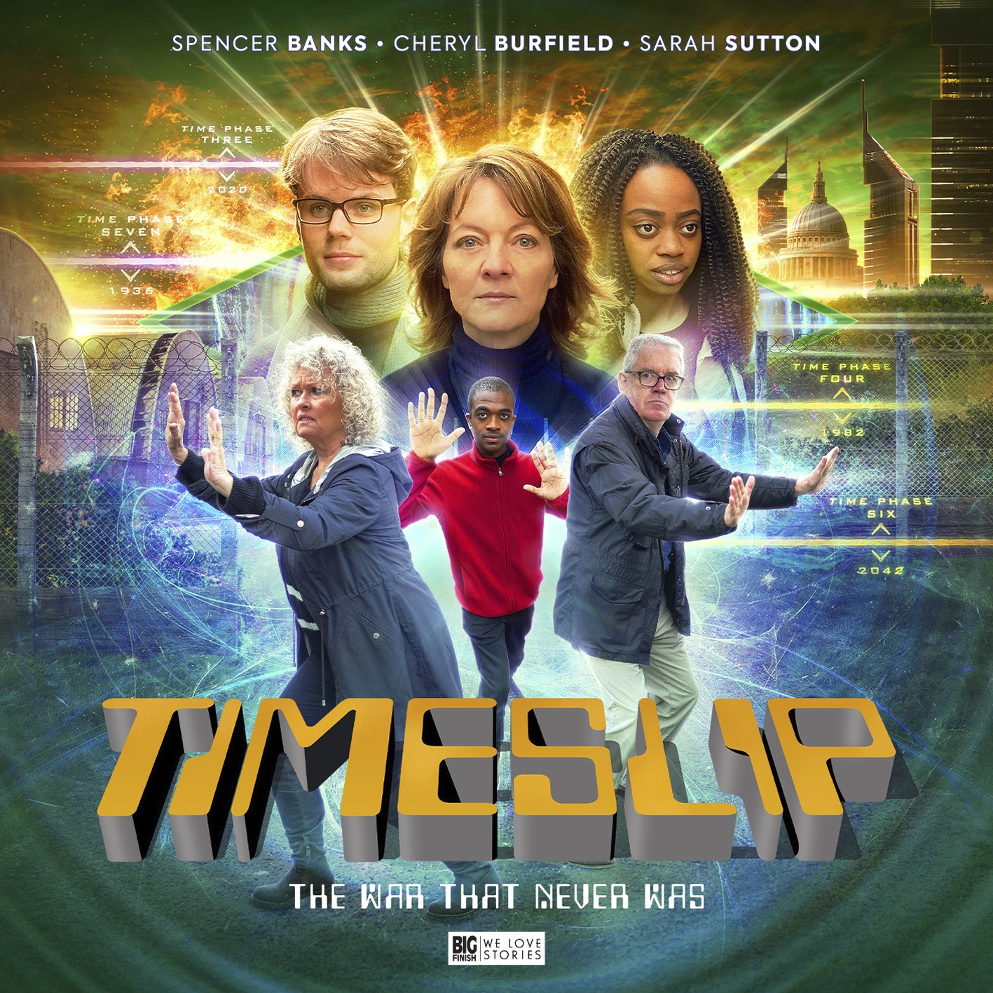Out Now: Big Finish's Timeslip – The War That Never Was, Starring Sarah Sutton