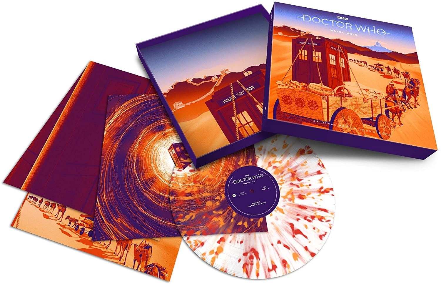 A Curse Upon the Doctor Who Companion (Or, How I Learned to Love Doctor Who on Vinyl)