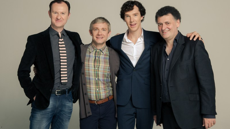 "Steven Moffat and Mark Gatiss Tease There's Still ""Lots of Cases"" They'd Adapt for Sherlock"
