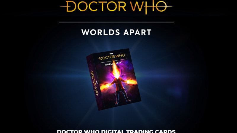 Coming Soon: A Doctor Who Digital Trading Card Game Using Innovative Blockchain Technology
