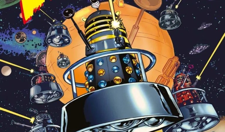 Doctor Who Magazine Exclusively Reprints the 1960s Daleks Comic Strips