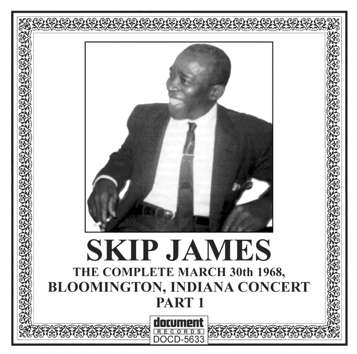 Skip James Live Volume 2 –  Bloomington 1968 Part 1 – Full Album