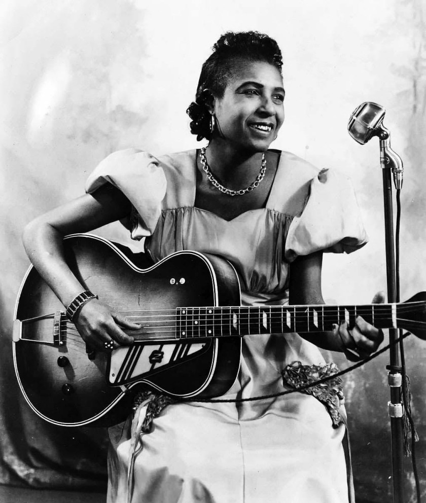 Memphis Minnie. Columbia publicity shot. 1940