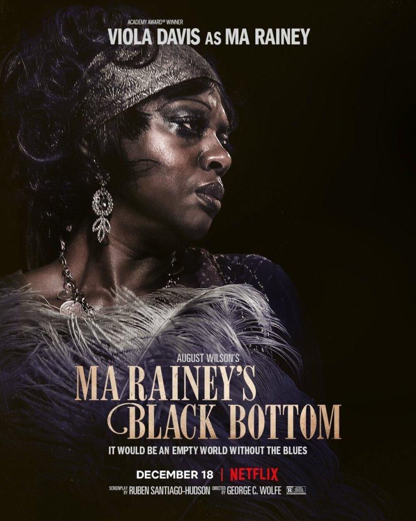 Character Posters For Ma Rainey's Black Bottom.BlackFilmandTV.com