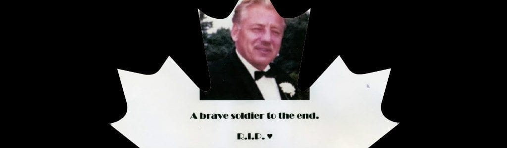 father's memorial banner