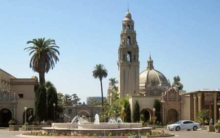 Balboa Park entrance, San Diego