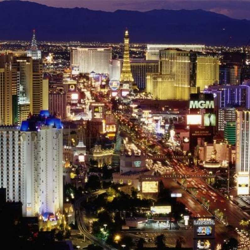 Las Vegas Neon Lights - Scintillating