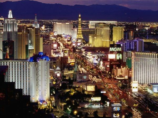 Las Vegas Neon Lights - Scintillating