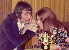 Jan. 27, 1973. Future Hubby and me