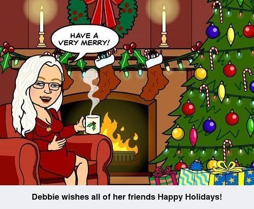wishing friends happy holidays