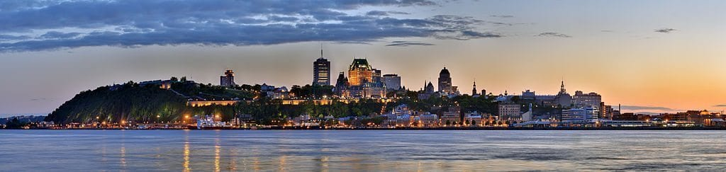 quebec city skyline