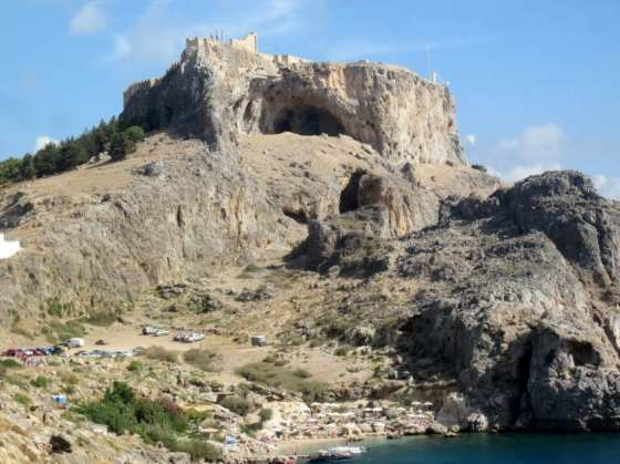 From Nature: Caves at Lindos (Rhodes), Greece